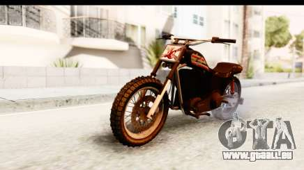 GTA 5 Western Cliffhanger Custom v1 für GTA San Andreas