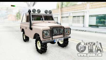 Land Rover Pickup Series3 pour GTA San Andreas