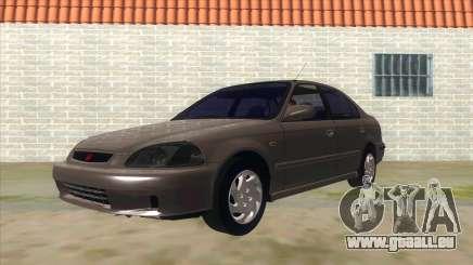 Honda Civic Sedan Stock pour GTA San Andreas