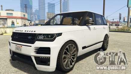 Land Rover Range Rover Startech pour GTA 5