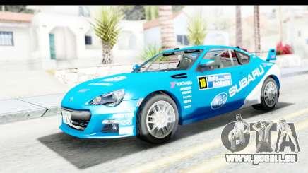 Subaru BRZ Rally pour GTA San Andreas