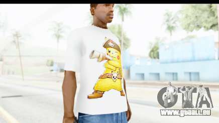 T-Shirt Pokemon Go Pikachu pour GTA San Andreas