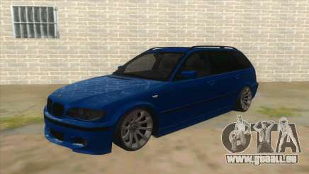 BMW E46 Touring Facelift für GTA San Andreas