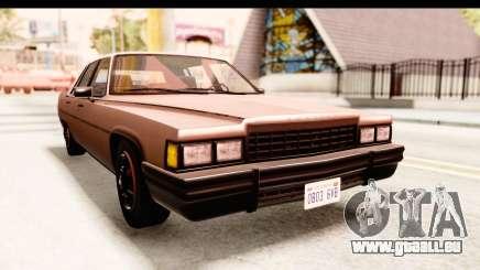 GTA 5 Albany Emperor SA Style für GTA San Andreas