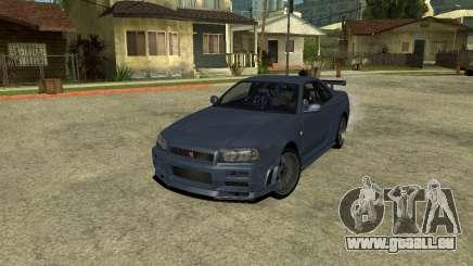 Nissan Skyline Armenia für GTA San Andreas