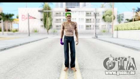 Suicide Squad - Joker v1 pour GTA San Andreas deuxième écran