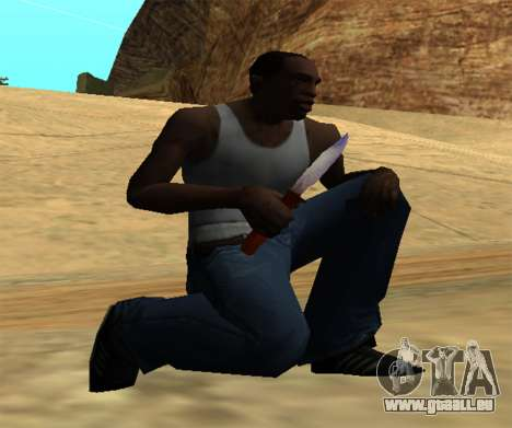 Common Knife pour GTA San Andreas