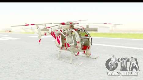 Smaga Sparrow Helis Military Version pour GTA San Andreas