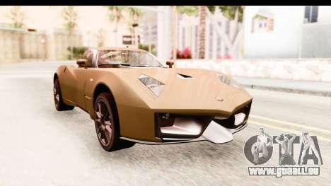 Spada Codatronca TS pour GTA San Andreas vue de droite