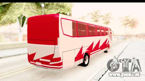 Smaga Bus pour GTA San Andreas sur la vue arrière gauche