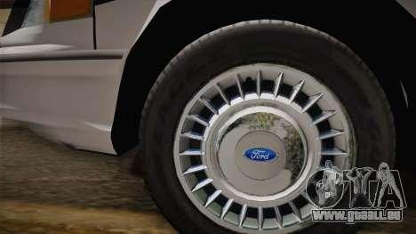 Ford Crown Victoria 1997 El Quebrados Police pour GTA San Andreas vue de droite