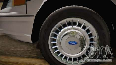 Ford Crown Victoria 1997 El Quebrados Police für GTA San Andreas rechten Ansicht