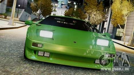 Lamborghini Diablo VT 1990 pour GTA 4 Vue arrière de la gauche