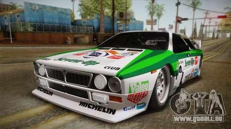 Lancia Rally 037 Stradale (SE037) 1982 HQLM PJ3 pour GTA San Andreas vue de droite