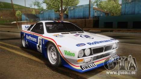 Lancia Rally 037 Stradale (SE037) 1982 IVF Dirt2 für GTA San Andreas rechten Ansicht
