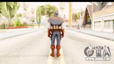 Marvel: Ultimate Alliance 2 - Captain America für GTA San Andreas dritten Screenshot