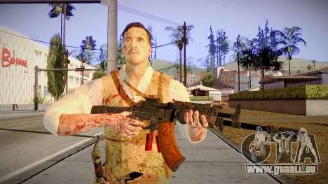 Black Ops 3 - Edward Richtofen für GTA San Andreas dritten Screenshot