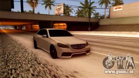 Mercedes-Benz Е63 für GTA San Andreas rechten Ansicht