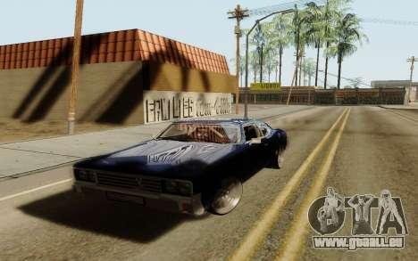 HD Sabre Greedy pour GTA San Andreas