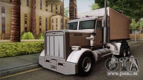 GTA 4 Flatbed für GTA San Andreas