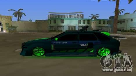 VAZ 2114 DPS Tuning pour une vue GTA Vice City de la gauche