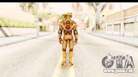 Marvel Heroes - Ultron Gold AoU pour GTA San Andreas troisième écran