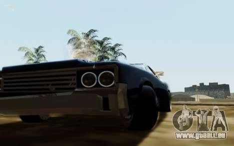 HD Sabre Greedy pour GTA San Andreas vue arrière