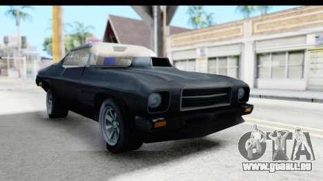 Holden Monaro 1972 Nightrider für GTA San Andreas rechten Ansicht