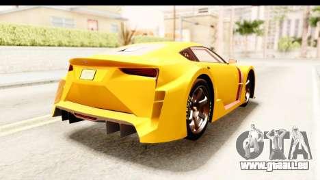 GTA 5 Emperor ETR1 IVF für GTA San Andreas rechten Ansicht