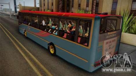 Nuovobus MB OF1418 Linea 302 pour GTA San Andreas laissé vue