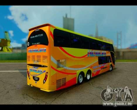 Metalsur Starbus II CRUCERO DEL NORTE für GTA San Andreas linke Ansicht