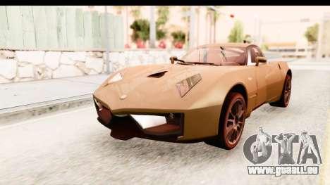 Spada Codatronca TS für GTA San Andreas