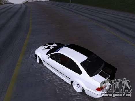 BMW E46 Good and Evil pour GTA San Andreas vue de côté