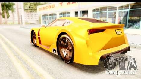 GTA 5 Emperor ETR1 IVF für GTA San Andreas linke Ansicht