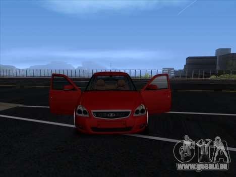 VAZ 2170 STANCE für GTA San Andreas Unteransicht