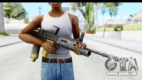 L85 pour GTA San Andreas troisième écran