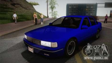 Declasse Premier 1992 IVF für GTA San Andreas