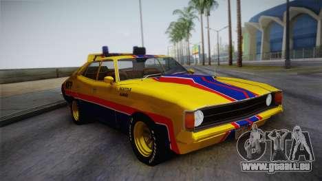 Main Force Patrol Vehicle Mad Max pour GTA San Andreas
