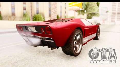 GTA 4 TboGT Bullet pour GTA San Andreas laissé vue
