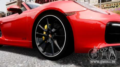 Porsche Boxster GTS 2014 pour GTA 4 est un droit