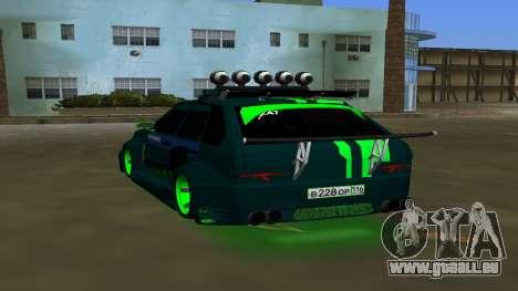 VAZ 2114 DPS Tuning pour GTA Vice City sur la vue arrière gauche