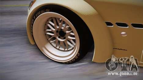 Maserati Gran Turismo Rocket Bunny pour GTA San Andreas vue intérieure