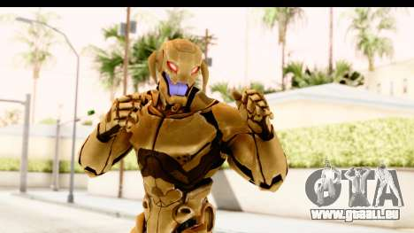 Marvel Heroes - Ultron Gold AoU pour GTA San Andreas