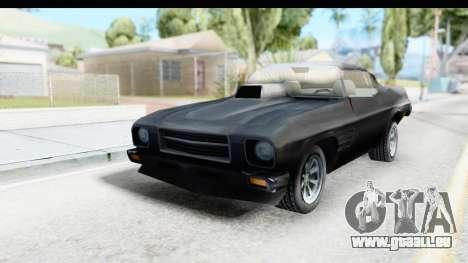 Holden Monaro 1972 Nightrider pour GTA San Andreas