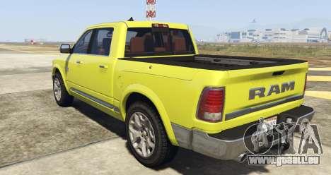 GTA 5 Dodge Ram Limited 2016 vue latérale gauche