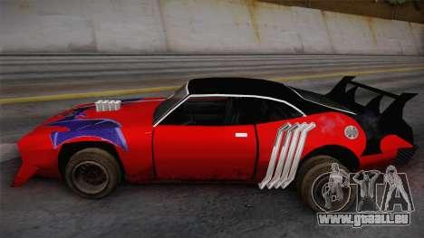 Ford Falcon 1972 Red Bat für GTA San Andreas zurück linke Ansicht