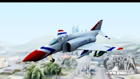 F-4 Phantom II Thunderbirds pour GTA San Andreas