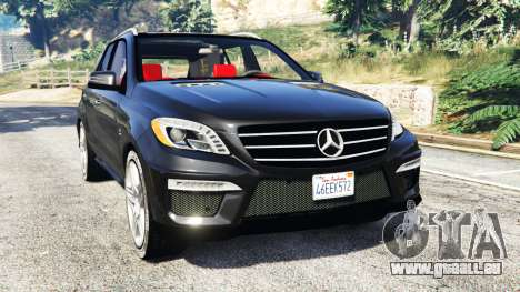 Mercedes-Benz ML63 AMG (W166) 2015 [replace] für GTA 5