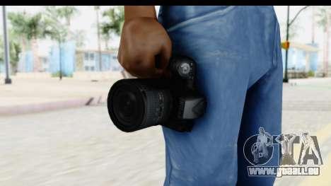 Nikon D600 pour GTA San Andreas troisième écran