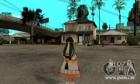 Ara Sakra Devanam (Elsword) pour GTA San Andreas deuxième écran